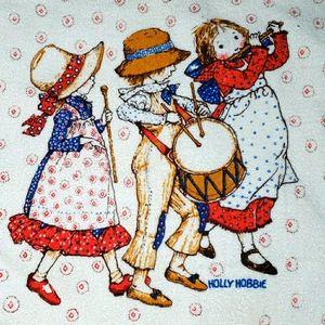 Vintage Holly Hobbie Decorative Towel